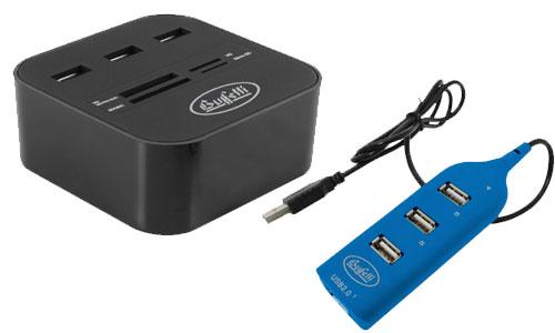 Hub per USB e Card reader