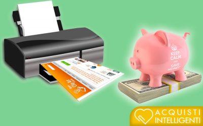 Costo copia e resa di stampa: salva il portafogli e stampa di più!