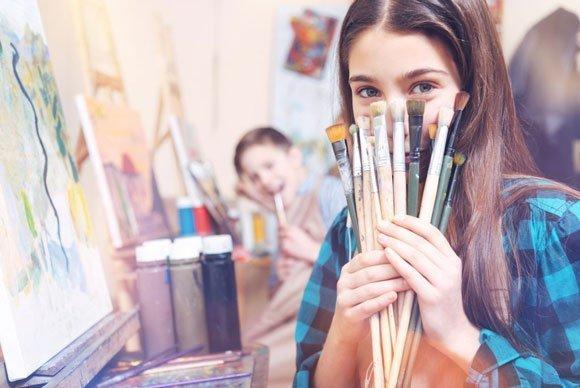 Da noi trovi tutto il materiale per i tuoi studi di Belle Arti!